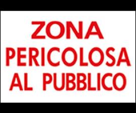 CARTELLI SICUREZZA DELLE GARE IN CARTONCINO